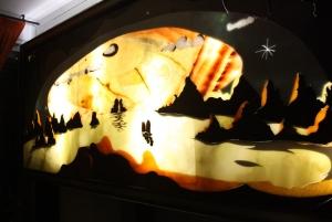 Murales retroiluminados